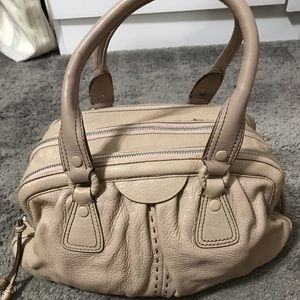 Cole Haan dusty rose hand bag